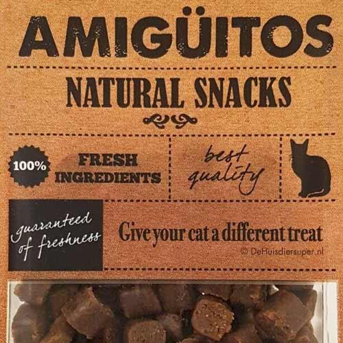 Kattensnack Amiguitos Eend   Glutenvrij