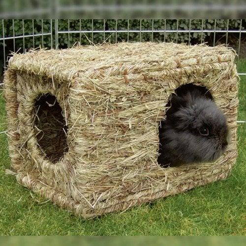 Knaagdieren | Huisjes en spelen | Grasnest XL, geschikt als schuilplaats