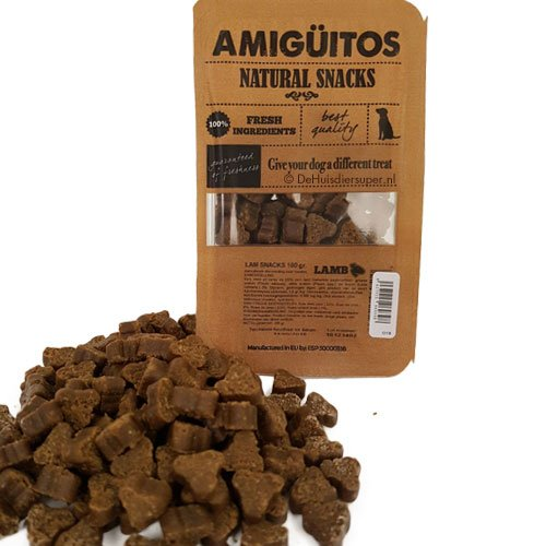 Hondensnack Amiguitos Lam | Glutenvrij