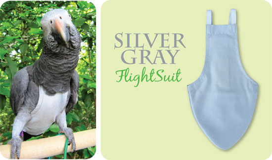 Flightsuit papegaaienluier X-Wide Grijs