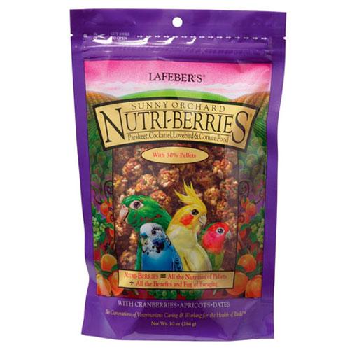 Papegaaiensnacks | Nutri Berries Sunny Orchard 284 gram