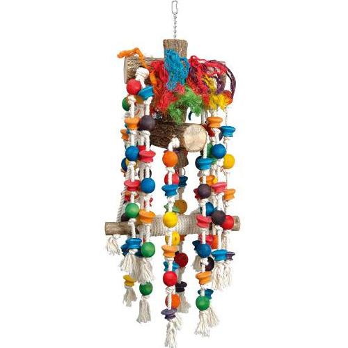Papegaaienspeelgoed | Speelhanger voor papegaaien