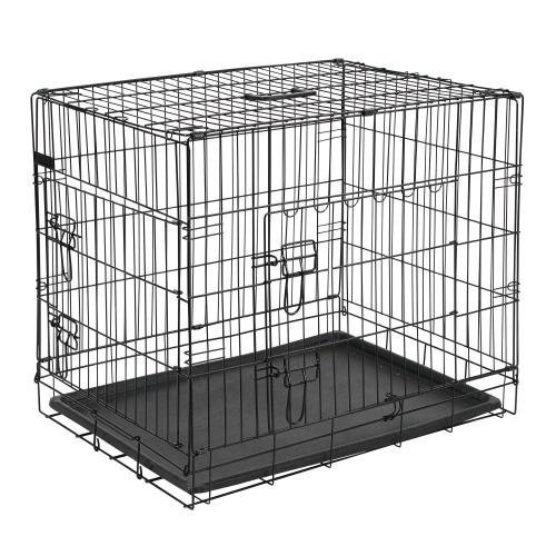 Hondenbench 92,5cm. - met 2 toegangsdeuren