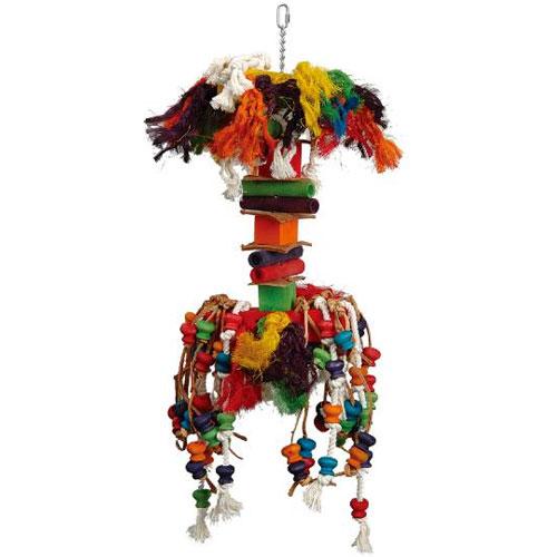 Papegaaienspeelgoed | Speelhanger Dumb Bell