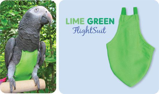 Flightsuit papegaaienluier Wide Groen