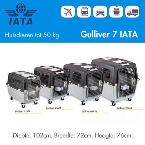 IATA Transportbox Gulliver Mega - Huisdieren tot 50kg.