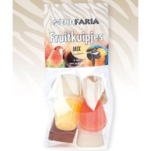 Zoofaria Fruitkuipje Mix 6 stuks