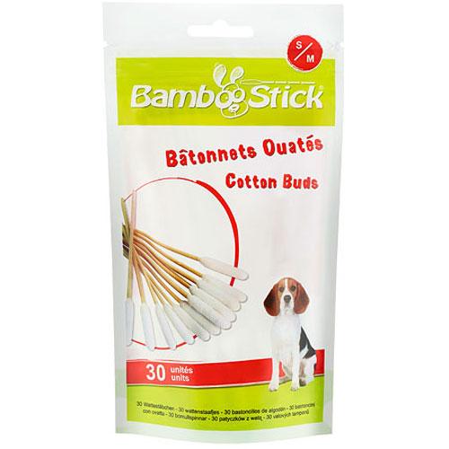 Bamboostick oorstaafjes voor de hond