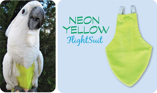 Flightsuit papegaaienluier Collosal Geel