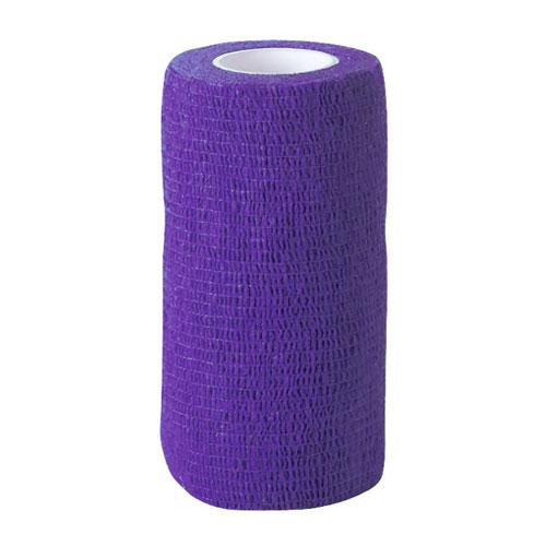 Zelfklevende bandage lila 10cm breed