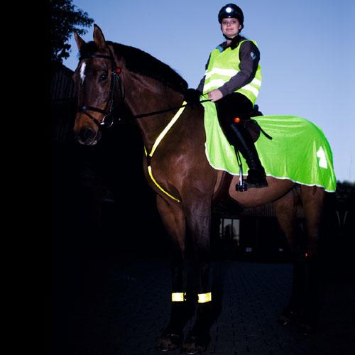 Veiligheidsvest - Zichtbaar veiliger voor paard en ruiter