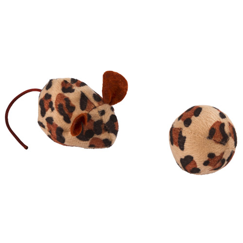 Kattenspeelgoed Muis en Bal