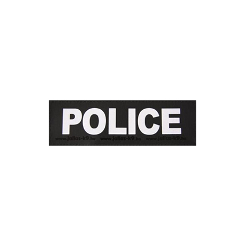 Julius K9 Powertuig | Julius K9 tekstlabel Police