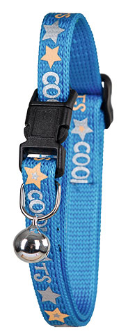Kattenhalsband CoolCats blauw