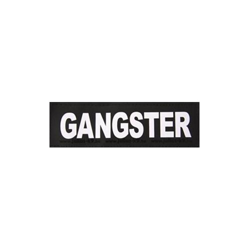 Julius K9 Powertuig | Julius K9 tekstlabel Gangster