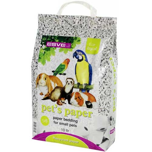 Pet's Paper Bedding 10lt