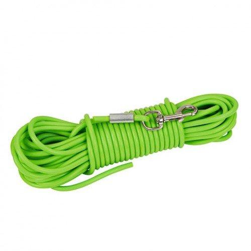 Hondenlijn Trainingslijn Groen | 15 meter, hoge treksterkte