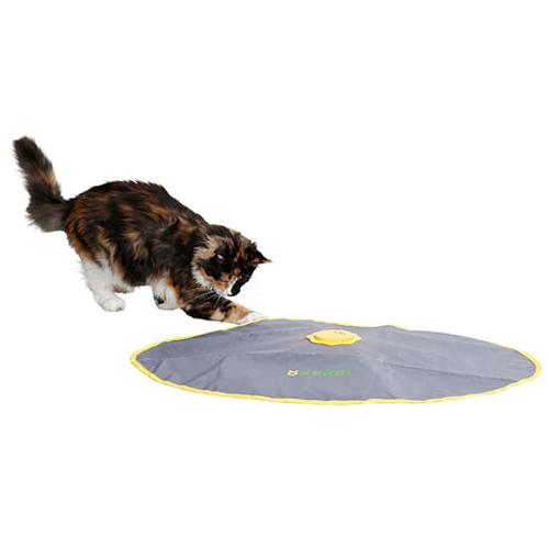 2 in 1 Interactief roterend kattenspeelgoed