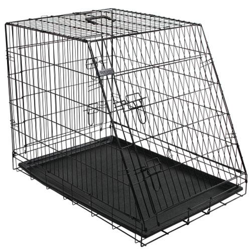 Bench 92 cm. zwart - 2 beveiligde toegangsdeuren