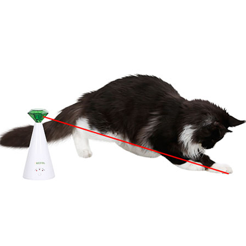 Kattenspeelgoed | Automatisch roterende laser 360 °
