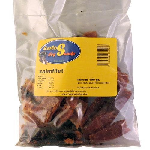 Hondensnacks Zalmfilet - Stimuleert de bloedsomloop