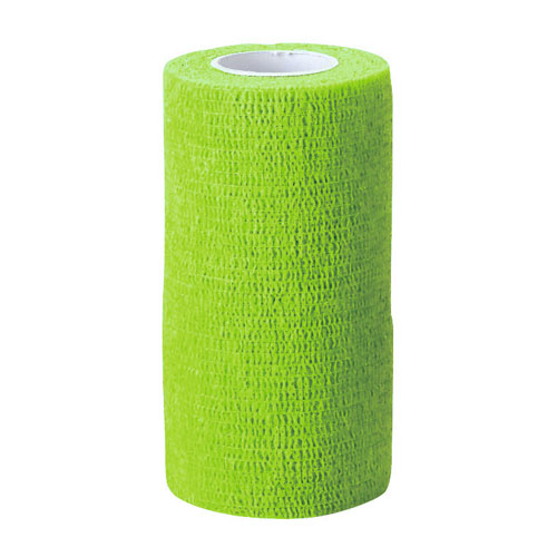 Zelfklevende bandage groen 10cm breed