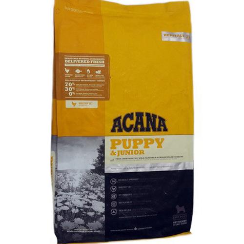 Hondenvoer | Acana Heritage | Acana Puppy en Junior 17 kg.