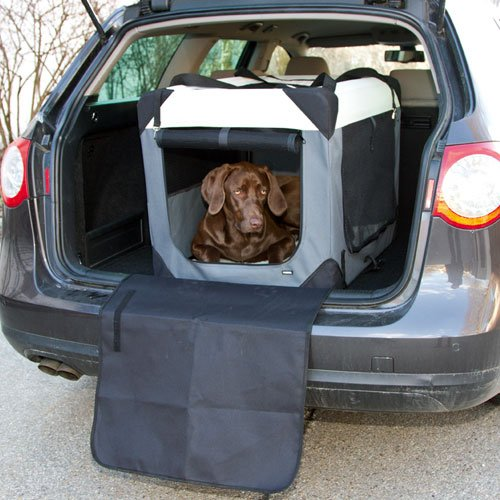 Transportboxen voor uw hond | Reisbench Journey 70cm. | Bumperbescherming