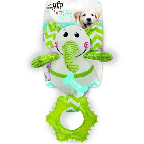 Interactief hondenspeelgoed | Little Buddy Goofy Elephant