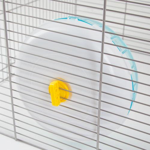 Huisjes en spelen   Hamster looprad hangend