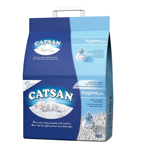 Catsan Hygiëne Plus   Voor veeleisende katten
