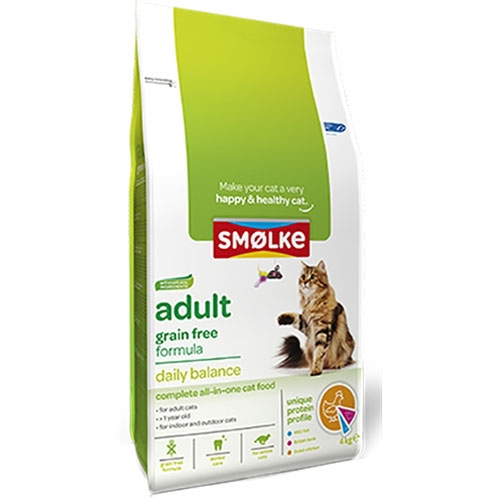 Smolke Kattenvoer Adult Graanvrij 4kg