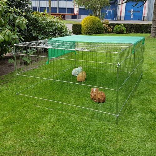 Konijnenren Marijke | Voordelige konijnenrennen