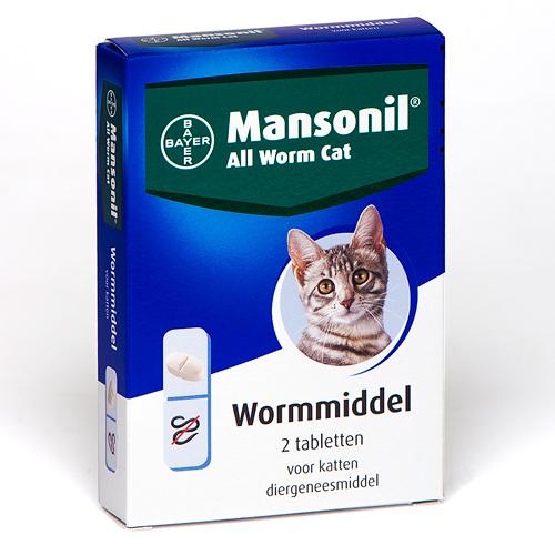 Mansonil ontwormen