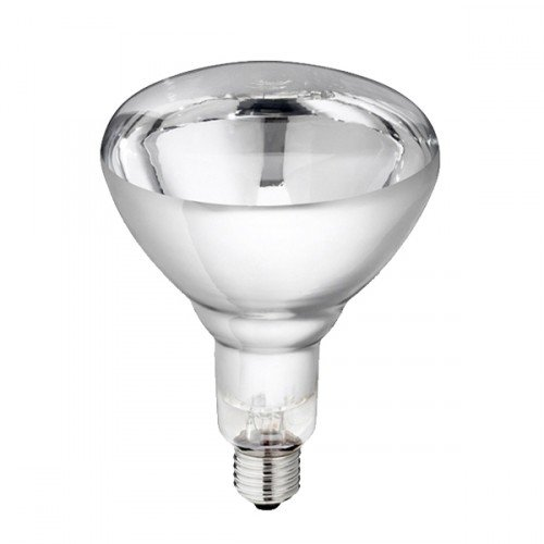 Warmtelamp 150Watt Transparant Gehard
