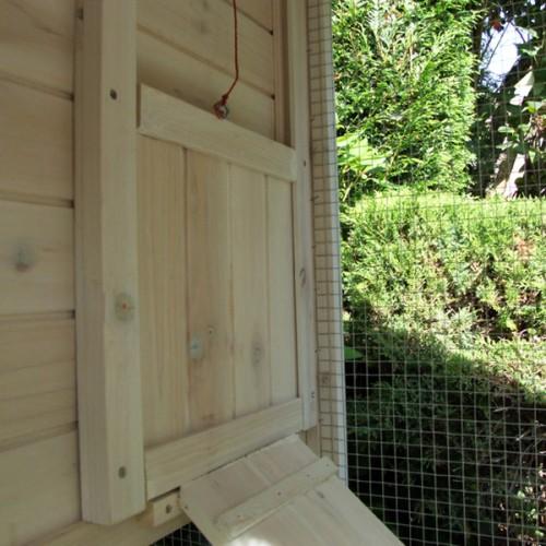 Kippenhok Country Club 212cm - trapopgang