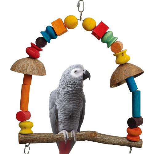 Papegaaienspeelgoed | Papegaaienschommel Arcade