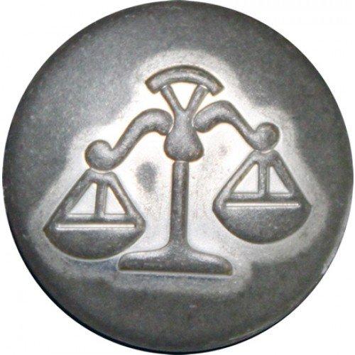 Weegschaal mat zilver