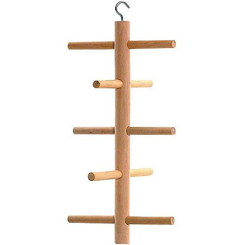 Parkietenspeelgoed houten klimtoren | wooden climber