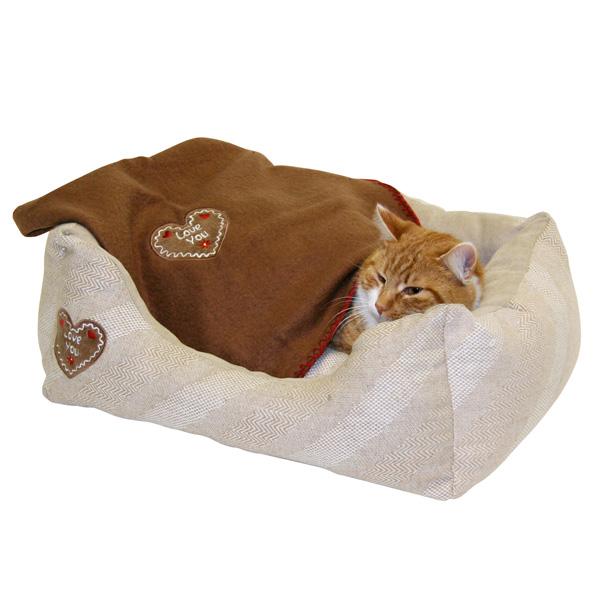 Kattenmanden | Kattenbed Love You 47x37cm