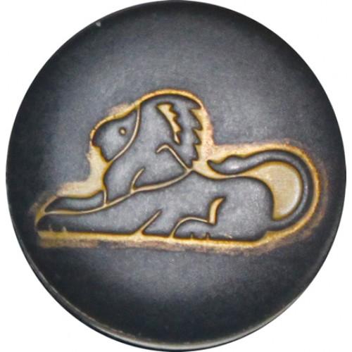 Leeuw zwart-goud