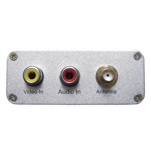 OnLink - Aansluitingen: LAN, audio / video, antenne