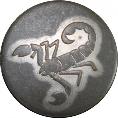 Schorpioen mat zilver